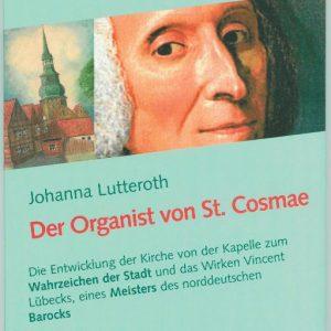 """Buch-Cover """"Der Organist von St. Cosmae"""""""