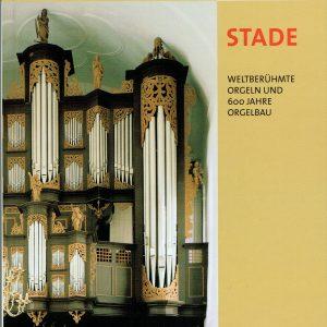 """Buchtitel """"Die Orgel-Stadt Stade"""""""