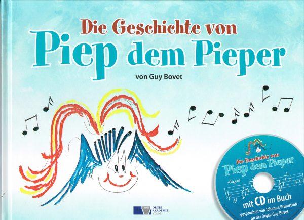 """Buchtitel """"Die Geschichte von Piep dem Pieper"""""""