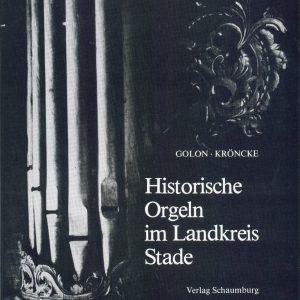 """Buchtitel """"Historische Orgeln im Landkreis Stade"""""""